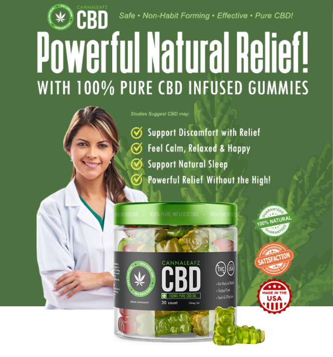 CannaLeafz CBD Gummies - Reviews - Shark Tank - Ingredients - Where To Buy