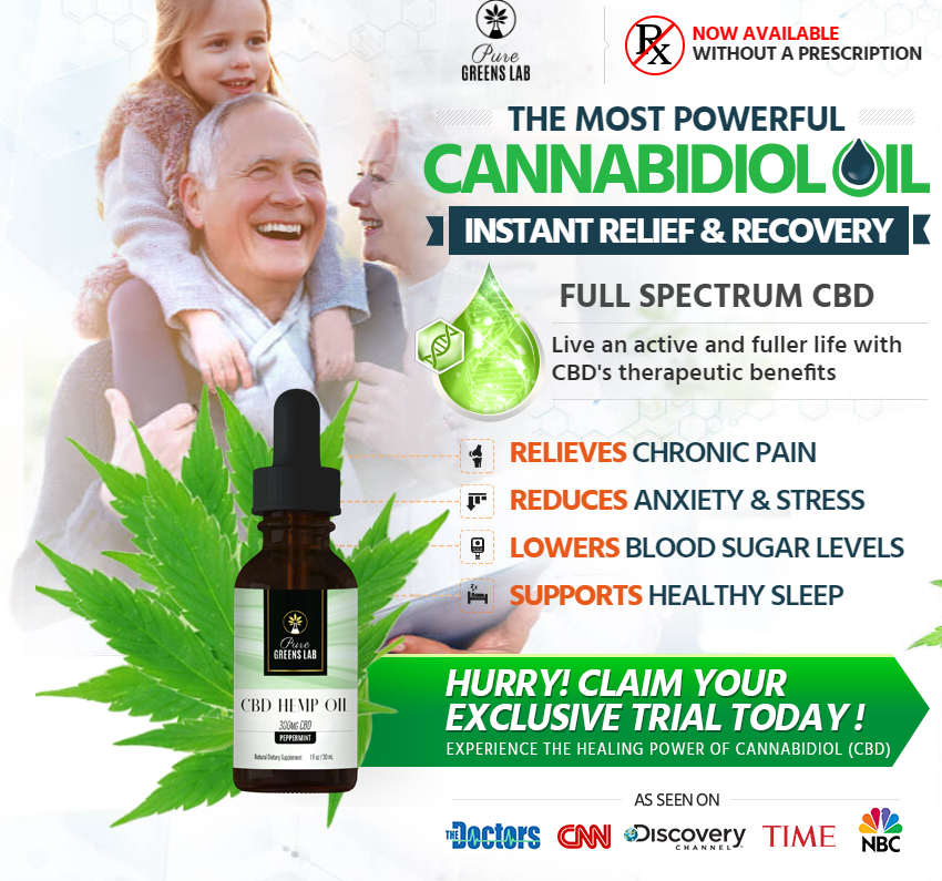 Pure Green Lab CBD Oil - Reviews - Shark Tank - Ingredients -Where To Buy